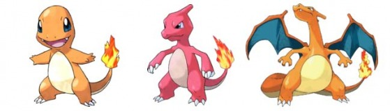 Pokemon Charizard Evolution