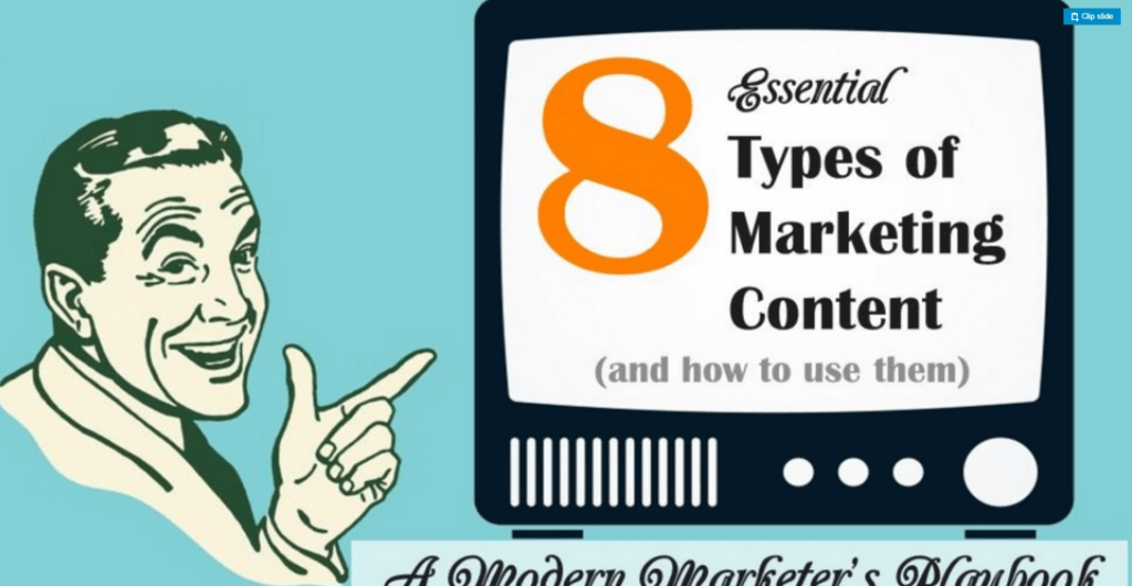 8-essential-types-content-marketing-slideshare