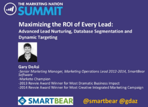 maximizing-roi-every-lead-marketo-summit-2014